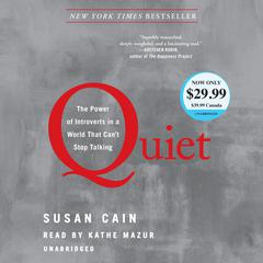 Quiet by Susan Cain audiobook
