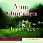 Blessings by  Anna Quindlen audiobook