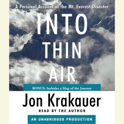 Into Thin Air by Jon Krakauer audiobook