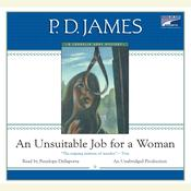 An Unsuitable Job for a Woman by  P. D. James audiobook