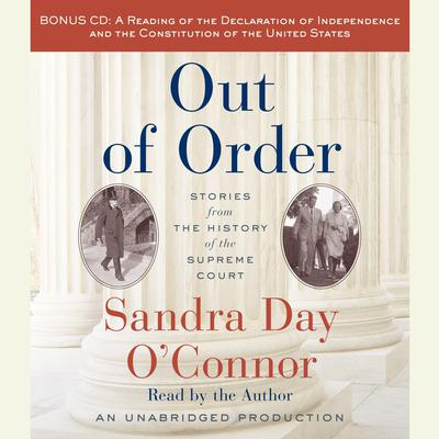 Out of Order by Sandra Day O'Connor audiobook