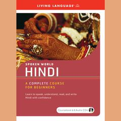 Hindi by Living Language audiobook