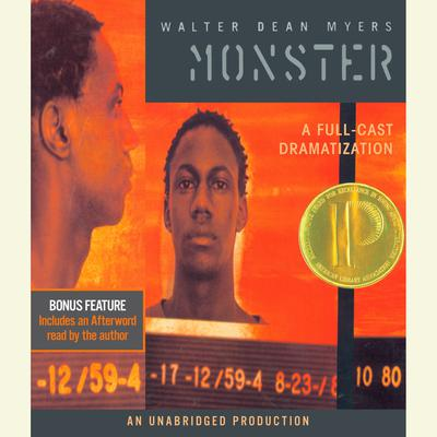 Monster by Walter Dean Myers audiobook