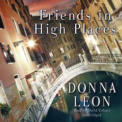 Friends in High Places by Donna Leon audiobook
