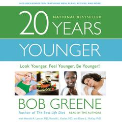 20 Years Younger by Bob Greene audiobook