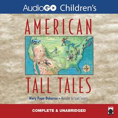 American Tall Tales by Mary Pope Osborne audiobook