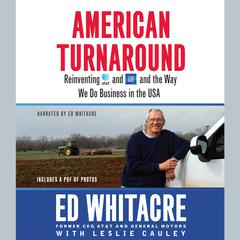 American Turnaround by Ed Whitacre audiobook