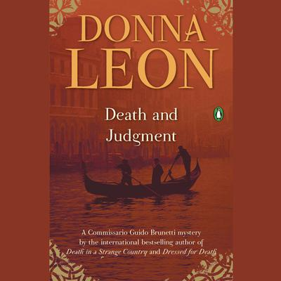 Death and Judgment by Donna Leon audiobook