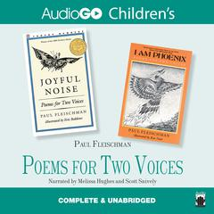 Poems for Two Voices by Paul Fleischman audiobook