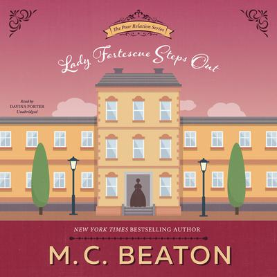 Lady Fortescue Steps Out by M. C. Beaton audiobook