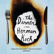 The Dinner by  Herman Koch audiobook