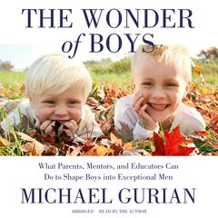 The Wonder of Boys by Michael Gurian audiobook
