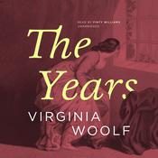 The Years by  Virginia Woolf audiobook