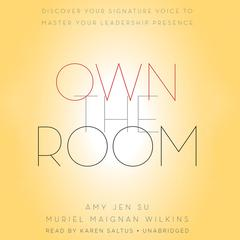 Own the Room by Amy Jen Su audiobook