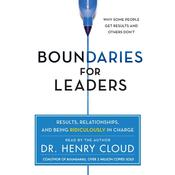 Boundaries for Leaders by  Dr. Henry Cloud audiobook
