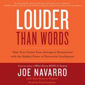 Louder Than Words by  Joe Navarro audiobook