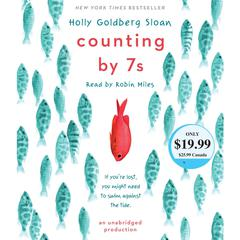 Counting by 7s by Holly Goldberg Sloan audiobook