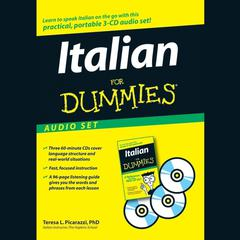 Italian for Dummies Audio Set by Teresa L. Picarazzi audiobook