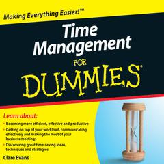 Time Management For Dummies by Clare Evans audiobook
