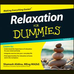Relaxation For Dummies Audiobook by Shamash Alidina audiobook