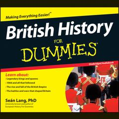 British History For Dummies by Sean Lang audiobook