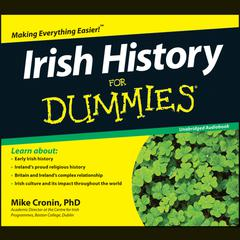 Irish History For Dummies by Mike Cronin audiobook