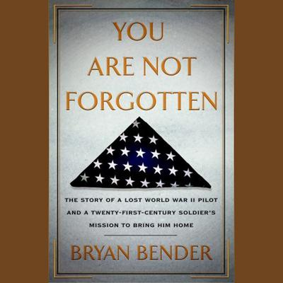 You Are Not Forgotten by Bryan Bender audiobook