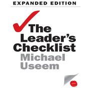 The Leader's Checklist Expanded Edition by  Michael Useem audiobook