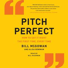 Pitch Perfect by Bill McGowan audiobook