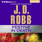 Festive in Death by  J. D. Robb audiobook