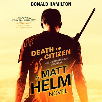 Death of a Citizen by Donald Hamilton audiobook