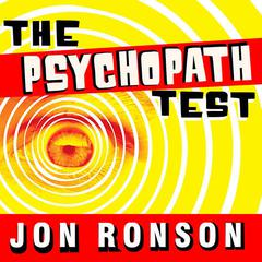 The Psychopath Test by Jon Ronson audiobook