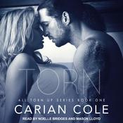 Torn by  Carian Cole audiobook