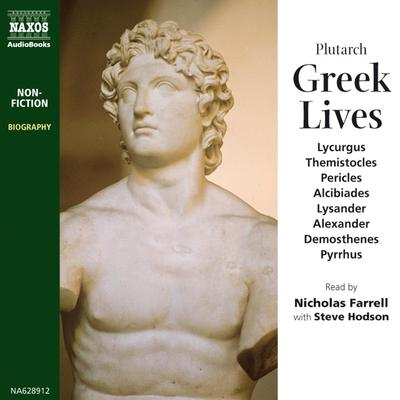 Greek Lives by Plutarch audiobook