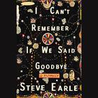 I Can't Remember If We Said Goodbye by Steve Earle