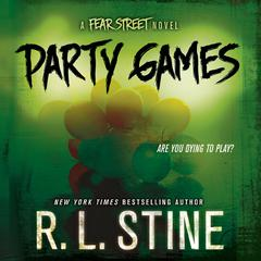 Party Games by R. L. Stine audiobook