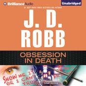 Obsession in Death by  J. D. Robb audiobook