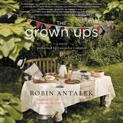 The Grown Ups by Robin Antalek audiobook