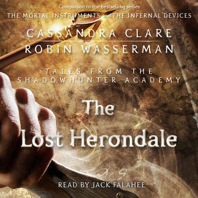 The Lost Herondale by Cassandra Clare audiobook