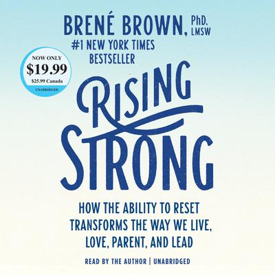 Rising Strong by Brené Brown audiobook