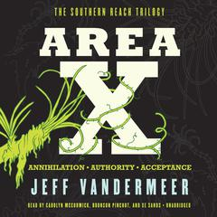 Area X by Jeff VanderMeer audiobook