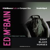 Eight Black Horses by  Ed McBain audiobook