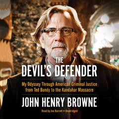 The Devil's Defender by John Henry Browne audiobook