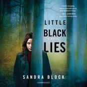 Little Black Lies by  Sandra Block audiobook