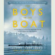 The Boys in the Boat (Young Readers Adaptation) by  Daniel James Brown audiobook