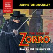 The Sign of Zorro by  Johnston McCulley audiobook