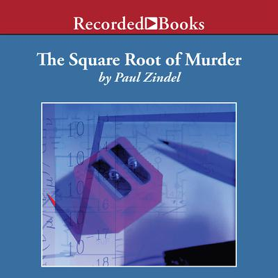The Square Root of Murder by Paul Zindel audiobook