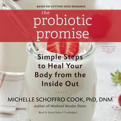 The Probiotic Promise by Michelle Schoffro Cook audiobook