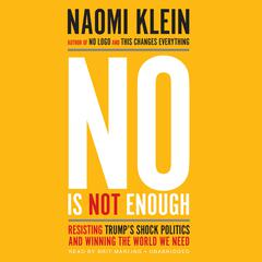 No Is Not Enough by Naomi Klein audiobook