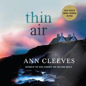Thin Air by  Ann Cleeves audiobook